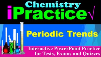 Periodic Trends: iPractice (Interactive PPT Worksheet for