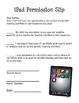 Permission Slip for Using the iPad