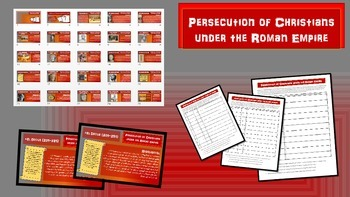 Persecution of Christians in the Roman Empire (26-slide PP
