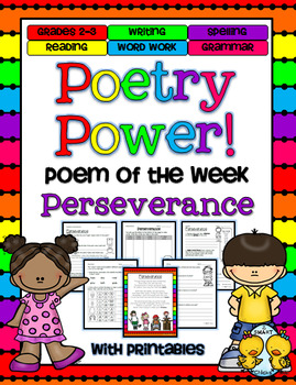 Perseverance Poetry Power! Daily Literacy Practice