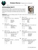 Person Puzzle -- Fractions of a Number - Alexandra Scott W