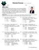 Person Puzzle -- Inverse Variation - Bill Nye Worksheet