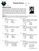 Person Puzzle -- Law of Cosines - Marie Curie Worksheet