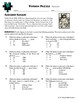 Person Puzzle -- Volume - Sadako Sasaki Worksheet