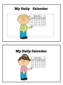 Personal Daily Calendar