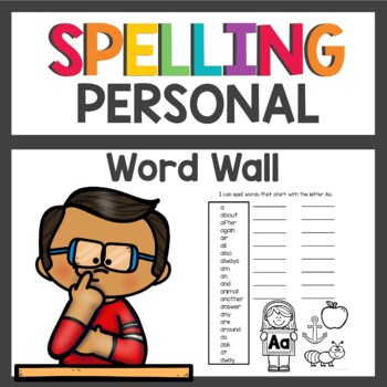 Student Dictionary / Word Wall Book