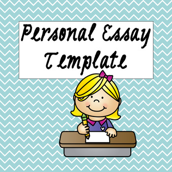 Personal Essay Template
