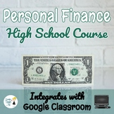Personal Finance Curriculum ENTIRE COURSE BUNDLE!!