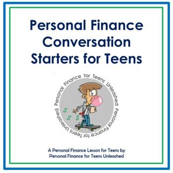 (HS) Personal Finance Conversation Starters for Teens: Fin