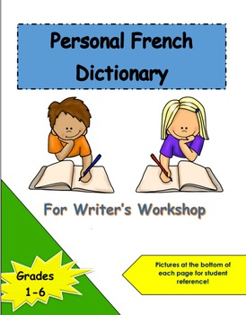 Personal French Dictionary