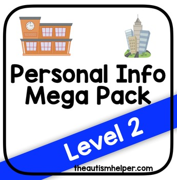 Personal Information Mega Pack {Level 2}