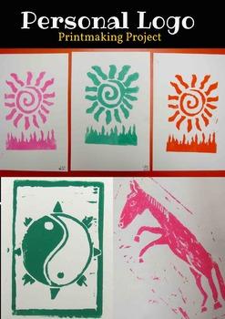 Personal Logo Printmaking Project