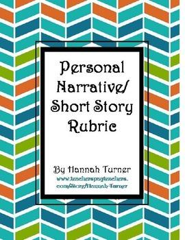 Personal Narative/Short Story Rubric