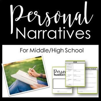 Personal Narrative Printable