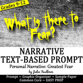 Prompt Pack Personal Narrative {Fear} Exemplar, Prompt, St