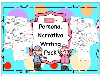 Personal Narrative Writing Pack