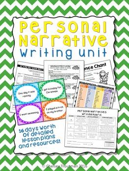 Personal Narrative Writing Unit