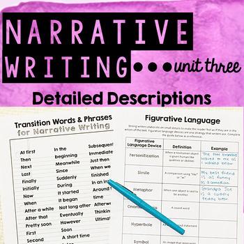 Personal Narrative Writing - Unit Three - Elaborating with