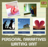 Personal Narrative Writing Workshop  Paper - Using Checklists!