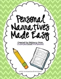Personal Narratives Made Easy!