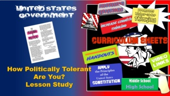 Who are you politically? Student centered activity Government