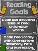 Reading Goals Clip Chart - 5th Grade