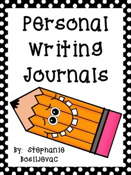 Personal Writing Journal (Writing Frame and Sentence Stems