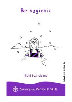 Personal Skills Posters - 10 Illustrated Personal Skills