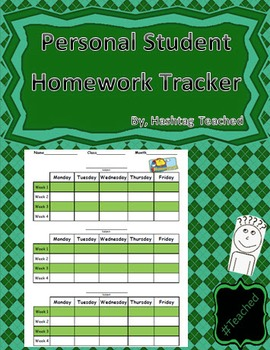 Personal Student Missed Homework Tracker