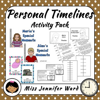 Personal Timelines Activity Pack