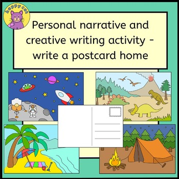 Personal narrative and creative writing activity - write a