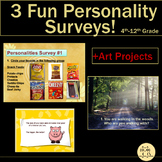 Health Lesson: Personality Surveys - A Fun Way to Connect