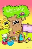 Personalizable JUMBO Classroom Welcome Poster