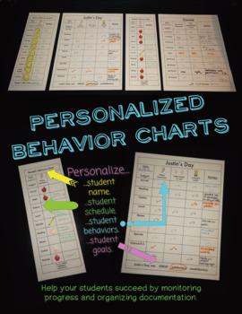 Personalized Behavior Charts