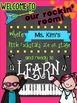 Personalized Class Poster {Rockin' Rockstar Theme}