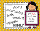 Personalized Editable Bookmarks Year End Keepsake Bucket Filler