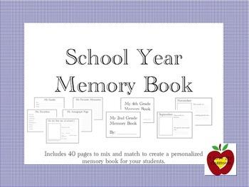 Personalized Memory Book (Scrapbook)