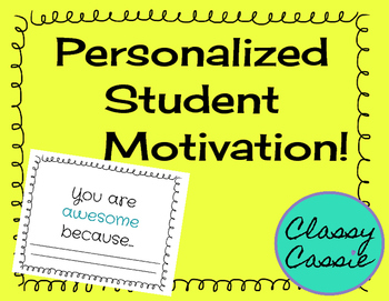 Personalized Student Motivation