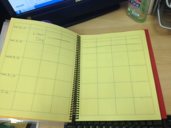 Personalized planbook for elementary school!  (k-5) Save t