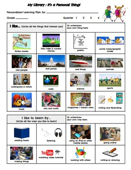 Personalizing Your Elementary Library Media Program