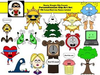 Personification Clip Art Collection