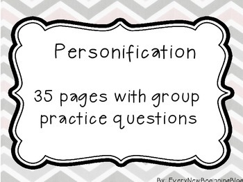 Personification Group Practice Questions