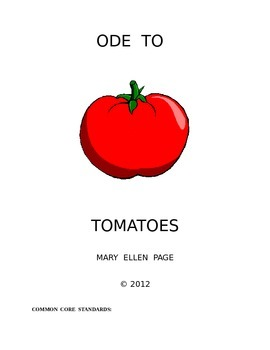 Personification: Ode to Tomatoes poem