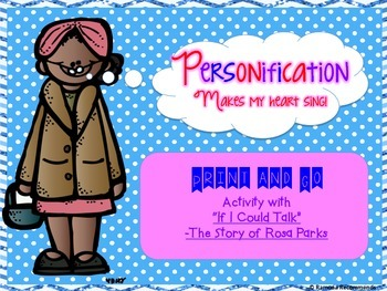 Personification with Rosa Parks Common Core Aligned