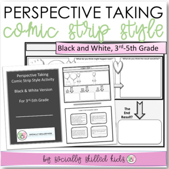 PERSPECTIVE TAKING and PROBLEM SOLVING~ Comic Strip Style
