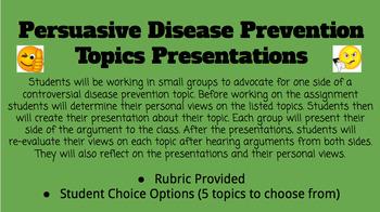 Controversial Disease Prevention Debate Topics