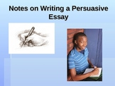 Persuasive Essay Writing PowerPoint Presentation