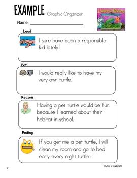 Persuasive Letter Unit