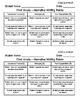 Persuasive/Opinion, Informational/Explanatory, & Narrative