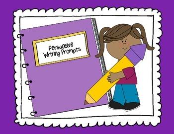 Persuasive & Opinion Writing Task Cards & Oreo Graphic Organizers